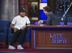 Chance is performing new music tonight on Colbert.   via COMPLEX MAGAZINE OFFICIAL INSTAGRAM - Fashion Campaigns  Culture  Advertising  Editorial Photography  Magazine Cover Designs  Supermodels  Runway Models