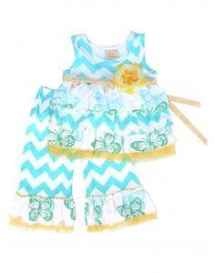 Haute Baby Flitter Flutter Toddler 2pc Set