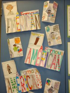 famous american flip flap book - The Good, the Bad, and the Ugly:  My Classroom Then, and Now!