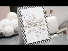 Spellbinders Cozy, Warm & Bright Christmas Card