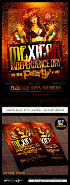 Haunted House Flyer Flyer template - independence day flyer
