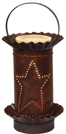 Rusty Star Mini Melt Warmer - Kruenpeeper Creek Country Gifts