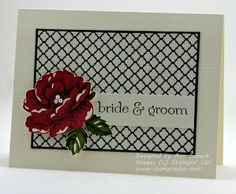 The Stampin' Schach: Bride and Groom for The Paper Players