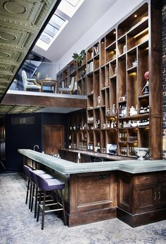 Private members' club LIBRARY is a compendium of creativity in London's West End... http://www.we-heart.com/2014/10/16/library-members-club-soho-london/