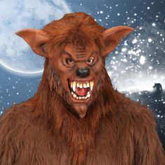 Careta de Lobo #mascaras #antifaces #carnaval