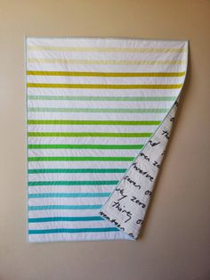 Gradient Stripes Quilt   Simple Girl, Simple Life