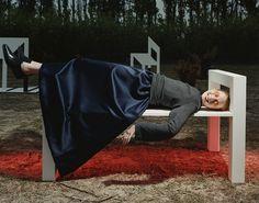 Yohji Yamamoto—Fall/Winter 1998  Photographed by Inez van Lamsweerde & Vinoodh Matadin