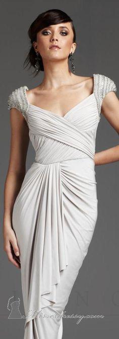 Mignon VM650 #long #formal #dress #gray #evening #dresses