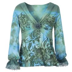 Ocean Flower Top - This one's on sale for $45.  I wish I could afford things on here.