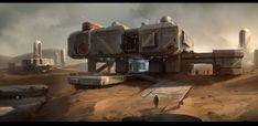ArtStation - Research Facility, Studio Qube