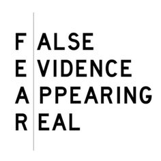 What is fear really? #Padgram