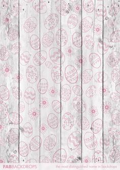 FabVinyl Easter Egg Stenciled Planks Backdrop is charming enough for all Easter portraits, parties, and eggy events. Photo Booth Background, Background Ideas, Easter Backdrops, White Wood Floors, Photography Backdrops, Easter Eggs, Stencils, Easter Stuff, Flooring