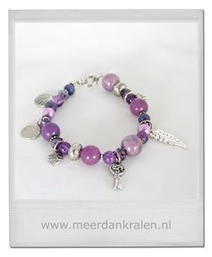 Paarse armband