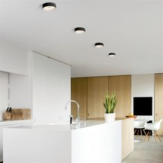 Kurk Surface LED<600lm warm white flood 1-10V/pushdim GI black struc (black struc interior) - OFFICIËLE MODULAR WEBSHOP