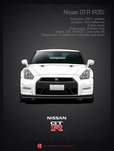 Nissan skyline evolution poster #5