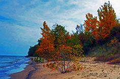 Autumn Beach 20Oct2015-2 by MSchmidtPhotography.deviantart.com on @DeviantArt