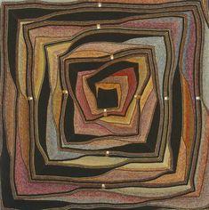 Swing-knitting из цветных остатков пряжи. Обсуждение на LiveInternet…