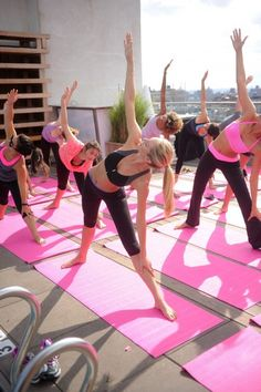 Keeping fit the pink way!