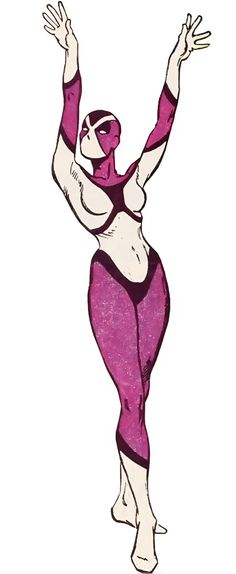 Frances Kane - Magenta - Flash enemy - DC Comics. from our very old notes at http://www.writeups.org/fiche.php?id=300 .