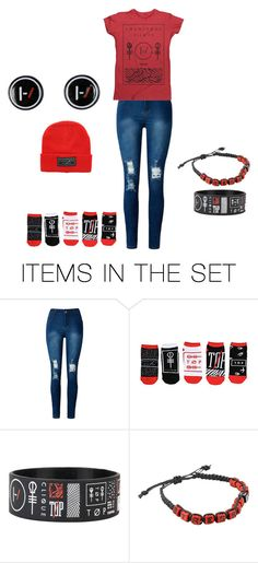 """Just a lot of twenty one pilots...."" by goner-dunseph-fren on Polyvore featuring art"