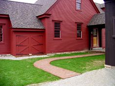 Custom Barn ell entry