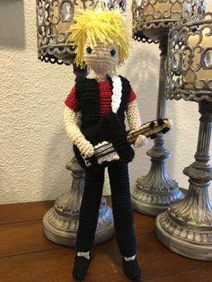 Amigurumi doll; crochet doll