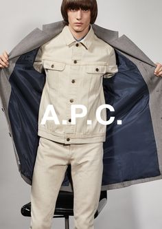 A.P.C. F/W 2017 RESORT COLLECTION. DYLAN ROQUES SHOT BY COLLIER SCHORR.