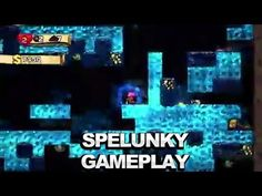 Spelunky - Ice Caves Gameplay