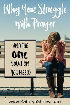 Do you struggle with prayer? Don't know what to say? Think God's not answering? The one solution that will change your experience with prayer: relationship.