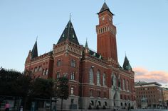 The town hall of Helsingborg is quite impressive
