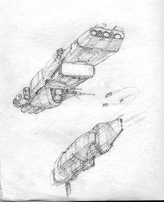 Just a bunch of random sketches! Space Ship Concept Art, Concept Ships, Arte Sci Fi, Sci Fi Art, Ship Sketch, Starship Concept, Spaceship Design, Star Wars Ships, Space Crafts
