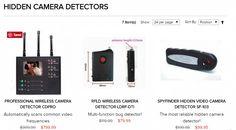 Hidden Video Camera, Hidden Camera Detector, Spy Store, Counter Surveillance, Professional Camera, Wireless Camera, Walkie Talkie, Professional Cameras