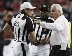 1e2e53ddb09 Nothing  part time  about Ed Hochuli s approach to game as NFL s most famous  referee