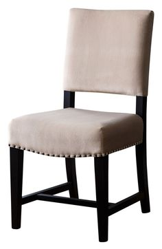 FOUR IN STOCK Beverly WHITE Bonded Leather Dining Chair