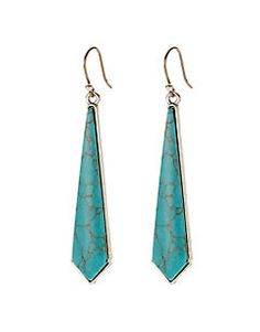Lucky Brand earrings, Tourquoise