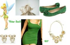 Tinker Bell Outfit- Peter Pan by Stacy P.