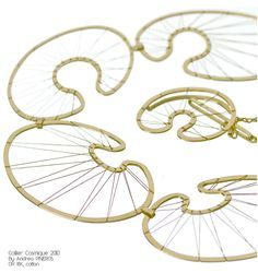 Afficher l'image d'origine Jewel Tones, Embellishments, Handmade Jewelry, Objects, Jewels, Contemporary, Designer Jewelry, Creative, Bridge