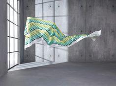 Minako: Bordado geométrico con colores de tendéncia. | Brodat geomètric amb colors de tendència. #saum #vision #ontario #fabrics #triangle #triangulo