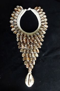 Details about Long Bead Necklace Jewelry Art Boho Luxe Cleopatra