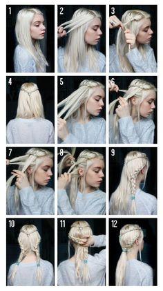 Fairy tale hair tutorial from faeriemag.com!: