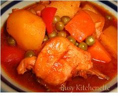 Pinoy Kitchenette: Chicken Afritada