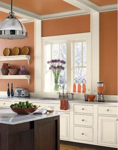 11 Best Tuscan-Style Paint Colors: Rustic Tuscan Paint Color | Benjamin Moore Firenze