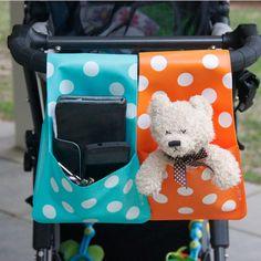 SALE Baby crib organizer Baby Stroller bag Playpen by FloraPockets
