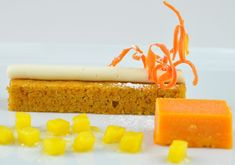 Swiss style carrot cake ~ will try this using GF pastry flour