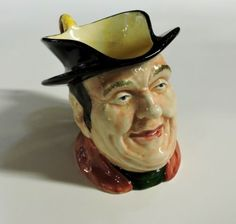 Royal Winton Character Toby Jug- Old Jarvie in Pottery & Glass, Pottery & China, China & Dinnerware, Royal Winton/Grimwades China China, China Dinnerware, Cowboy Hats, Bb, Pottery, Glass, Character, Vintage, Ceramica