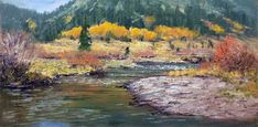 Donald Neff - Carson Colors, 8x16, oil on panel, $350