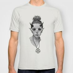Monster Girl #3a T-shirt by nijikon - $22.00