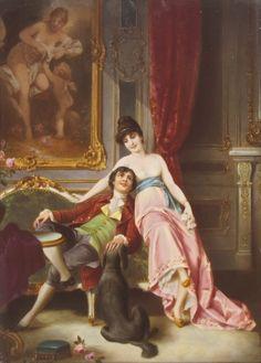 Unknown Artist - Amorous Couple