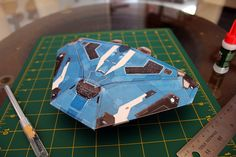 Cobra Mk. III from Elite : Dangerous Papercraft