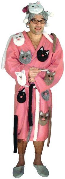 crazy cat lady costume - @Emily Bragg @Christine Bertolino